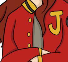 Varsity Jacket Sticker