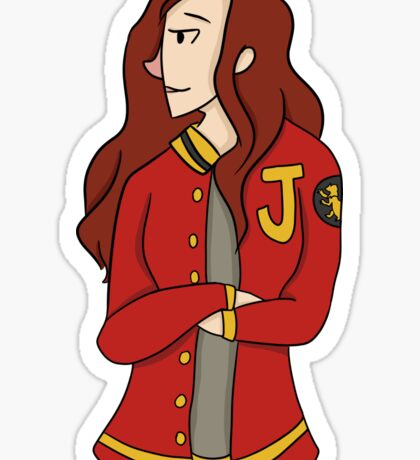 Varsity Jacket Sticker