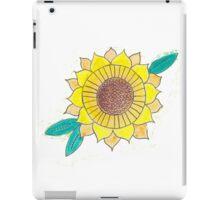 Watercolor Sunflower iPad Case/Skin