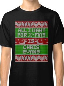 All I Want For Christmas 2016 (Chris Evans) Classic T-Shirt