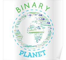 Binary Planet Poster