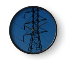 Power Tower in a Blue Sky Clock