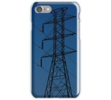 Power Tower in a Blue Sky iPhone Case/Skin