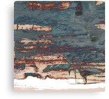 Edge 3 a - painting Canvas Print