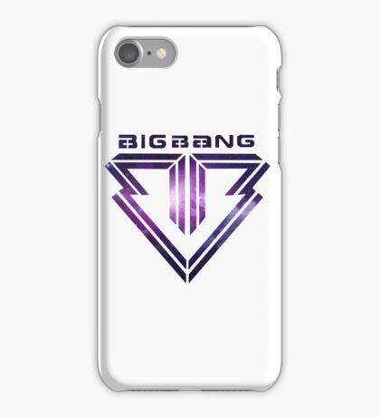 Big bang Logo Galaxy iPhone Case/Skin