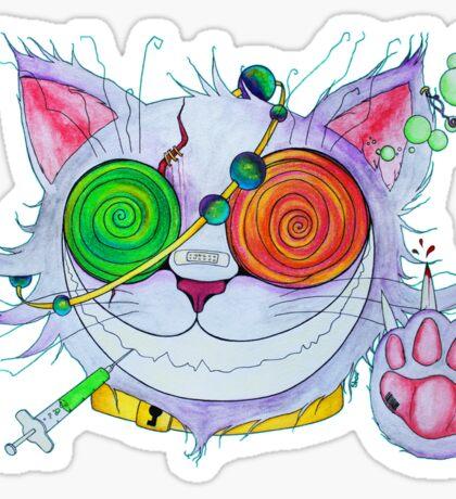 Psychocat Sticker