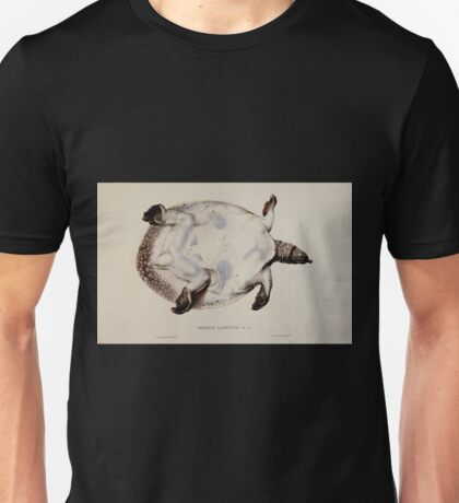Tortoises terrapins and turtles drawn from life by James de Carle Sowerby and Edward Lear 053 Unisex T-Shirt