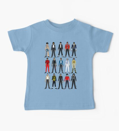 Outfits of King Jackson Pop Music Fashion Baby Tee