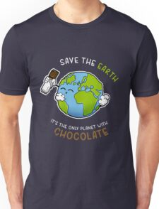 Save Chocolate Unisex T-Shirt