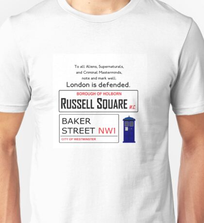 London is Defended Unisex T-Shirt