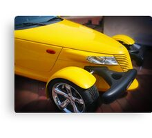 Yellow and Beautiful Canvas Print