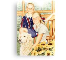The Carter Kids Canvas Print