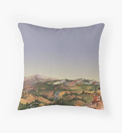 Siena Landscape Throw Pillow
