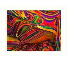 PANTED WORLD 448 Art Print