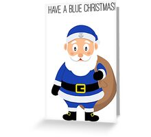 Everton Santa Greeting Card