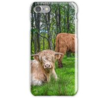 Highland Cows, Scotland iPhone Case/Skin