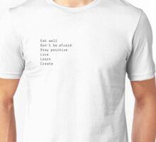 Syro Commandments Unisex T-Shirt