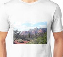Rocks near Sedona, Arizona 6 Unisex T-Shirt