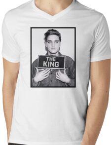 The King Mens V-Neck T-Shirt