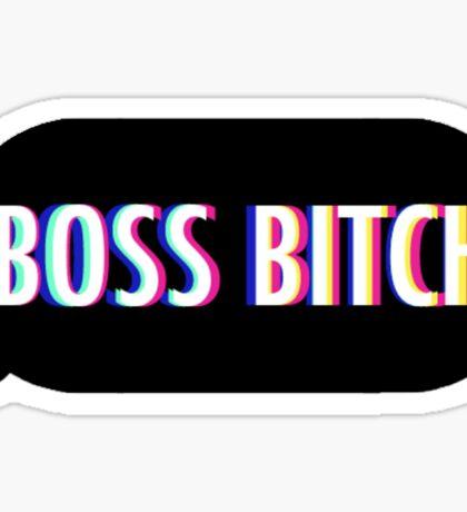 Boss Bitch Sticker