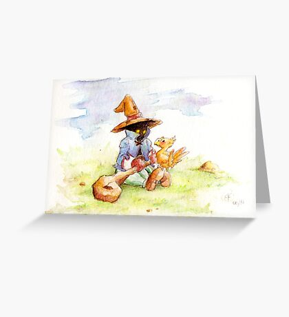 FF IX - Bibi / Vivi Greeting Card