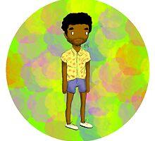 Black Male In Short Shorts, I'm Double Suspect by artxee
