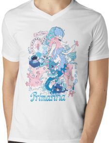 Starter's family: Primarina Mens V-Neck T-Shirt