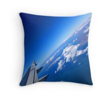 The Quiet Earth Throw Pillow