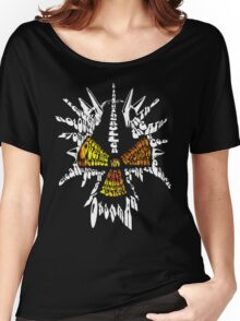 Corrosion Of Conformity Typography (White Version) Women's Relaxed Fit T-Shirt
