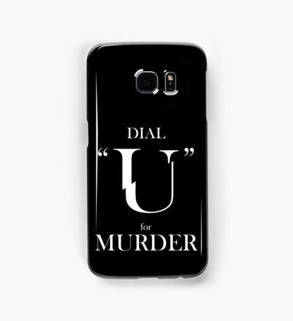 UCism - Dial U for Murder Samsung Galaxy Case/Skin