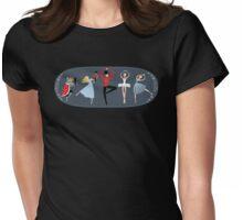 Clara's Nutcracker Ballet Womens Fitted T-Shirt