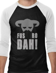 Skyrim- Fus-Ro-Dah!  Men's Baseball ¾ T-Shirt