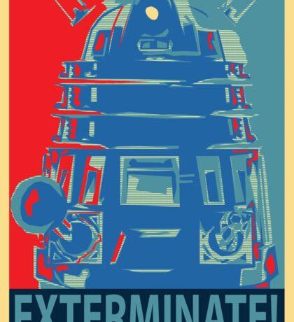 Vote 1# Dalek Sticker