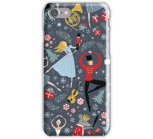 Clara's Nutcracker Ballet repeat by Robin Pickens iPhone Case/Skin