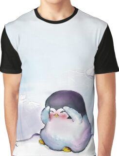 SO Sorry - Pinguin Graphic T-Shirt