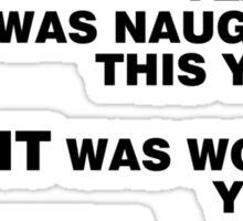 santa 2 Sticker