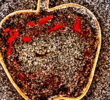 Apple on the Beach - part 8 Sticker