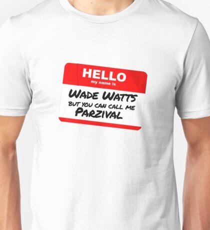 Parzival Name Tag Unisex T-Shirt