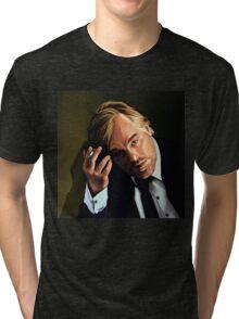 Philip Seymour Hoffman Painting Tri-blend T-Shirt