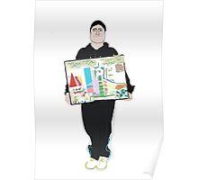 Peter self portrait Poster