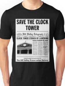 Save the clock tower fan art Unisex T-Shirt
