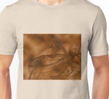 Fractal 11 - golden Unisex T-Shirt