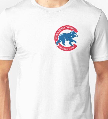Chicago Cubs World Series Champions November 2, 2016 Cub 2 Unisex T-Shirt