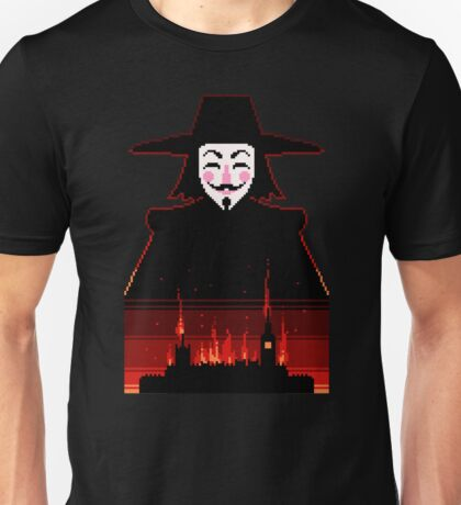 Parliament burning Unisex T-Shirt