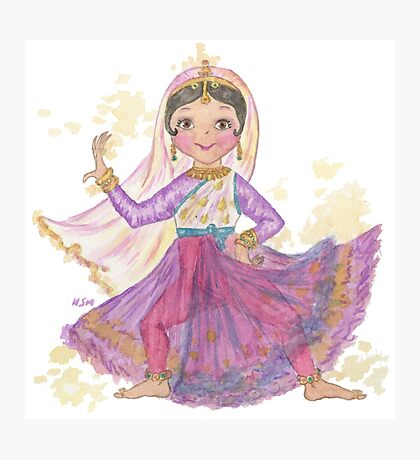 South Asian Dancing Doll Photographic Print