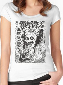 Grimes Visions Women's Fitted Scoop T-Shirt