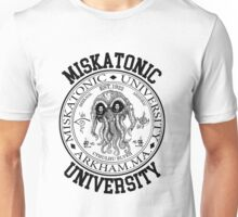 MISKATONIC UNIVERSITY HP LOVECRAFT  Unisex T-Shirt