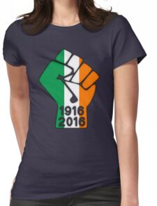 Ireland 1916 Power Fist Womens Fitted T-Shirt