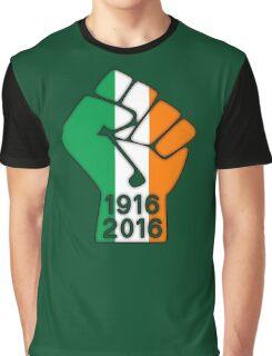 Ireland 1916 Power Fist Graphic T-Shirt