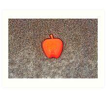 Apple on the Beach - part 10 Art Print